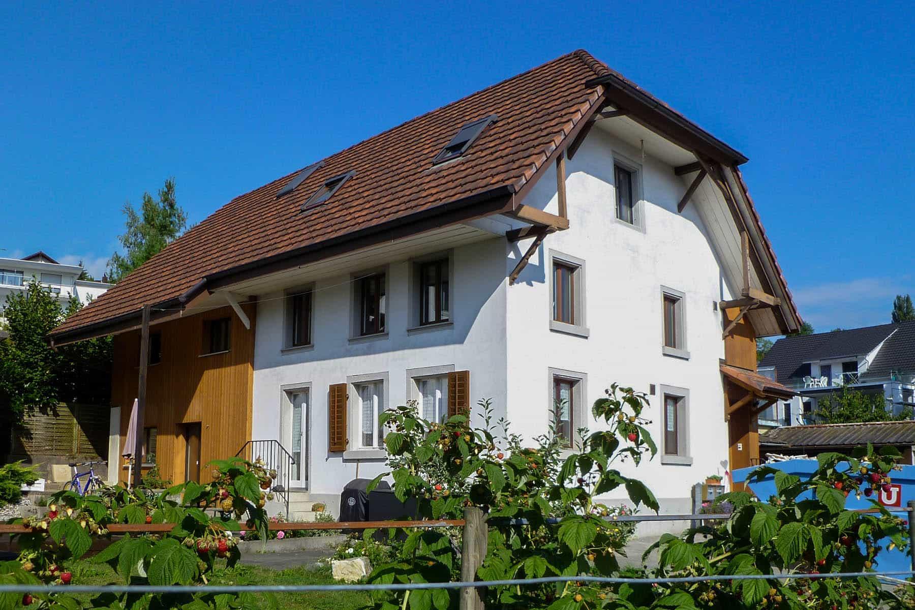 zweifamilienhaus modernisierung in dintikon